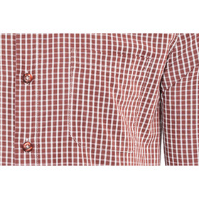 Meru Vallejo Chemise à manches longues Homme, burnt red